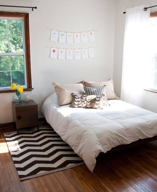 A Clean Bedroom | You Make Me Swoon
